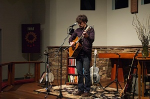 Drew Willson music live - Grace and Glory Lutheran Church - February 28, 2015